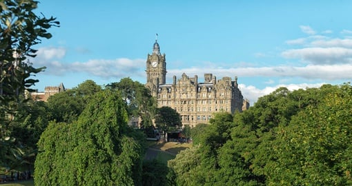 The Balmoral is one of Edinburgh's iconic sites