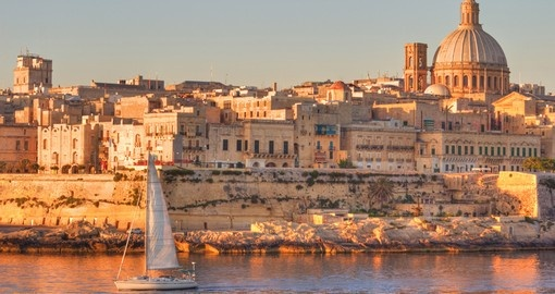 Valletta - typically the starting point for all Malta vacations.