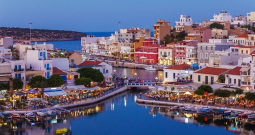 Include Agios Nikolaos City and Voulismeni Lake, Crete on your Greece Vacation