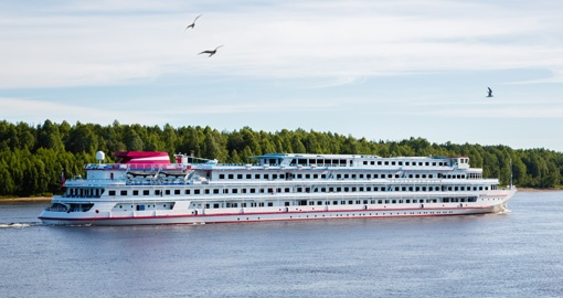 Experience River Cruising in Russia and enjoy beautiful scenery on your next European vacations.