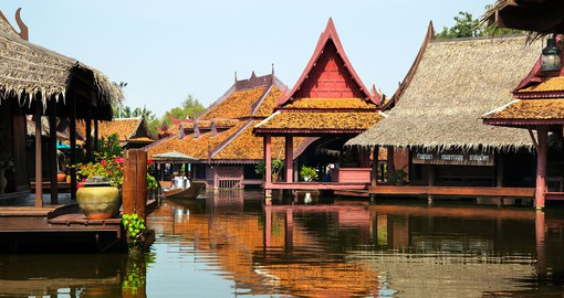 Take a cruise of the canals of Bangkok on your next Thai tour.