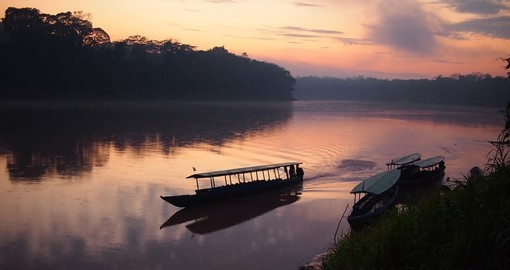 Navigate the Tambopata River on your Peru Tour