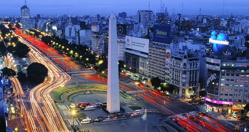 Bustling Buenos Aires