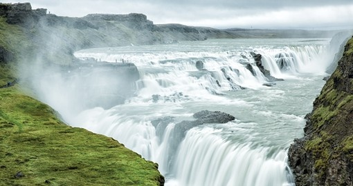 Visit Gullfoss Waterfalls and learn its touching story on your next Iceland vacations.