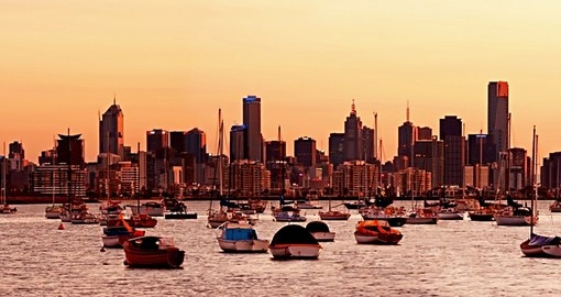 Start your Australia vacation with a morning city tour of Melbourne