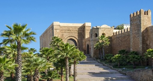 Explore Kasbah of the Udayas in Rabat during your next Morocco tours.
