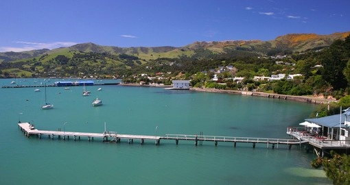 Enjoy pristine waters and local Akaroa culture on your Trips to New Zealand.