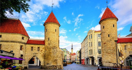 Conclude your European Tour with a visit to the Viru Gate in Tallinn