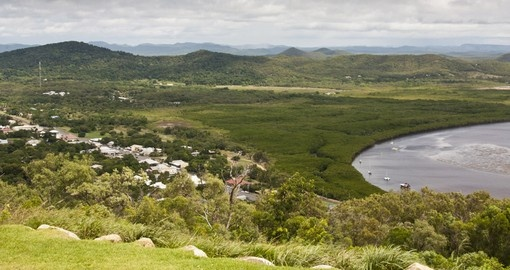 Experience view Above Cooktown on your next trip to Australia.