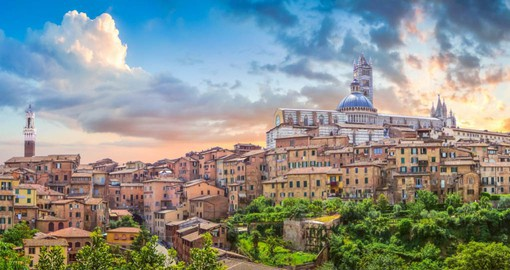 Siena is likely Italy's loveliest medieval city