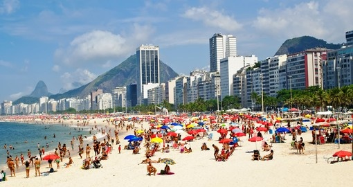 Leme and Copacabana Beach
