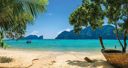 Include a day trip to beautiful Phi Phi Island on your Thailand Vacation