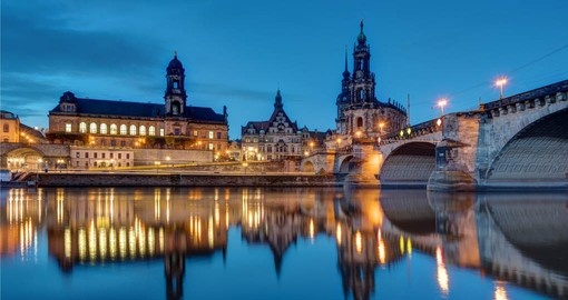Dresden, an important cultural centre is visited on your trip to Germany