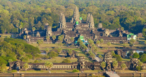 Visit Angkor Wat as part of your Cambodia Tours