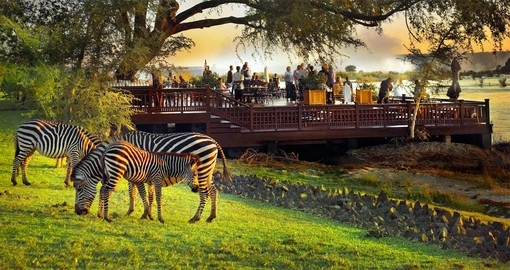 Experience all the amenities the Royal Livingston can offer during your next Zambia vacations.