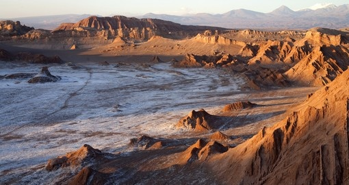 Moon Valley in the Atacama is a must visit on your Chile vacation