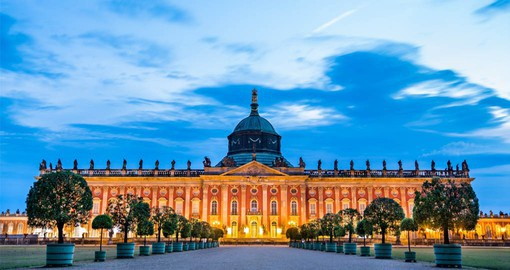 Sanssouci was the summer palace of Frederick the Great, King of Prussia