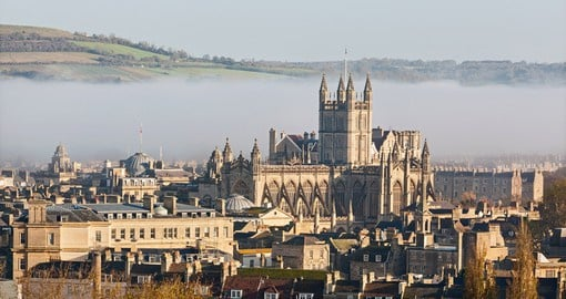 Experience the historic city of Bath during your England vacation