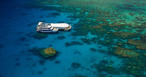 On your Australia Vacation visit the Norman platform on the Outer Barrier Reef.