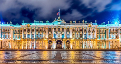 A visit to the Winter Palace home of the Hermitage Museum is the climax of your European tour package