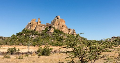 Visit Matobo National Park in Zimbabwe.
