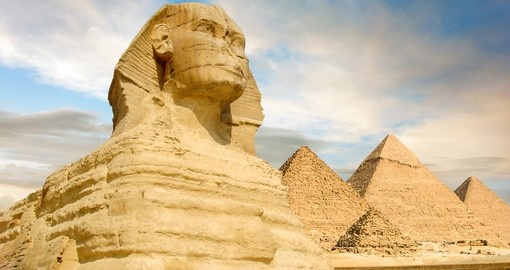 Visit the great pyramids on your Egypt tour.