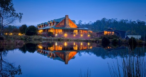 Stay at Peppers Cradle Mountain Lodge on your Australia vacation