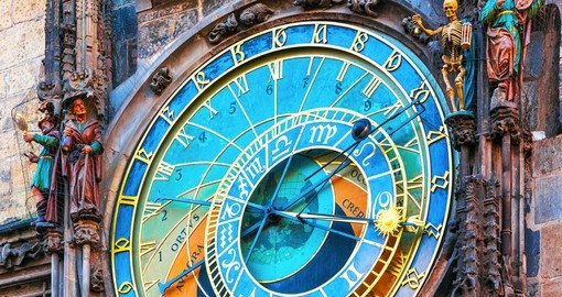 The Astronomical Clock at City Hall Tower