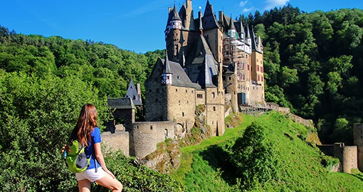 Stay in a Rhine Valley castle