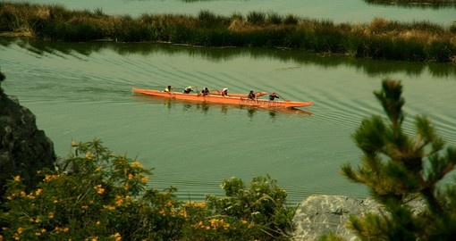 Paddle through the Reed Islands during your Peru vacation.