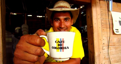 Sample some the world's best coffee on your Colombia Tour