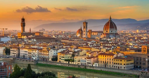 Florence, one Italy's most beautiful cities was the birthplace center of the Italian Renaissance