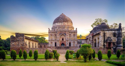 Begin your trip to India in the capital city, Delhi a fascinating blend of ancient tradition and colonial splendor