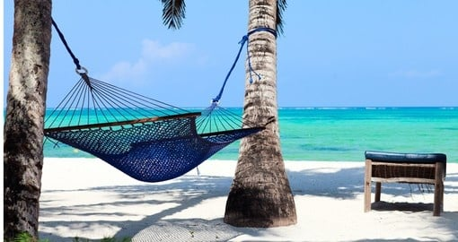 Relax on the beaches of Zanzibar