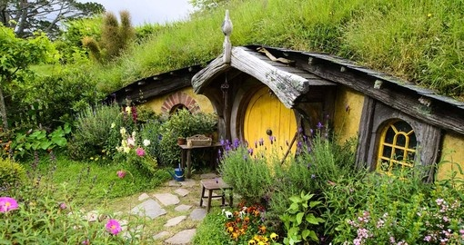 Visit Hobbiton, Lord of the Rings movie set (Best of New Zealand)