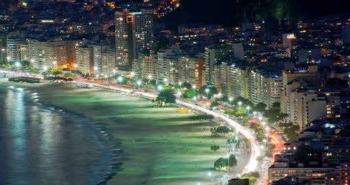 Include time at the world famous beaches on your trip to Brazil