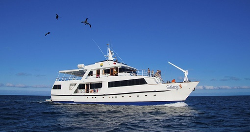 Enjoy a once in a lifetime cruise on the M/V Galaven