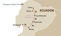 Guayaquil to Quito Train Ride