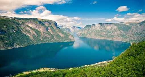 You will see Sognefjord during your trip in Norway