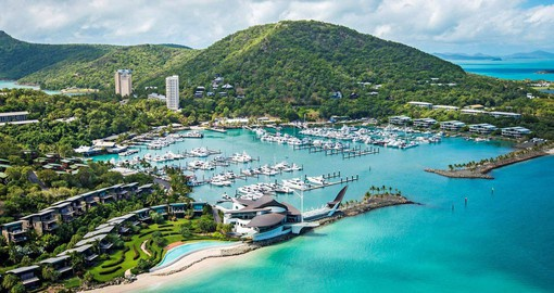 Hamilton Island in Australia's beautiful Whitsundays