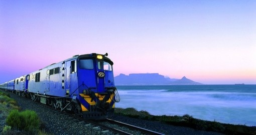 One of the world's great train journeys, the Blue Train is a highlight of your South Africa tour