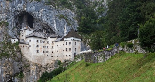 See the unique Predjama Castle on your trip to Slovenia
