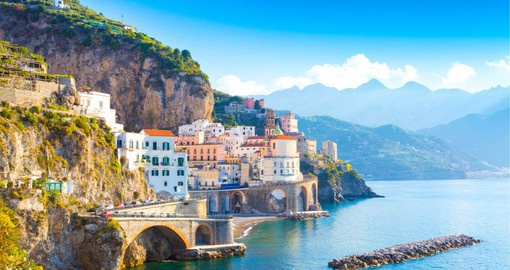 A dramatic natural setting makes Amalfi one of Italy's jewels