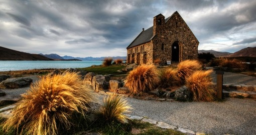 Visit church of the Good Shephard on your next New Zealand tours.