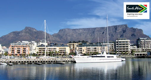Shimmering views of Cape Town
