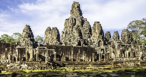 See Bayon temple on your Cambodia Tour