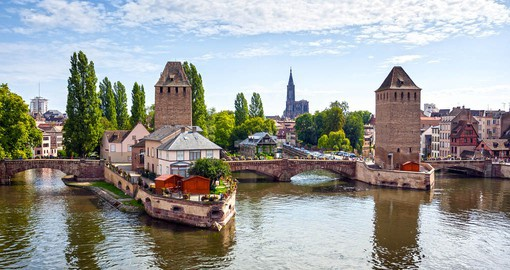 See the Medieval Brige in Strasbourg on your France vacation