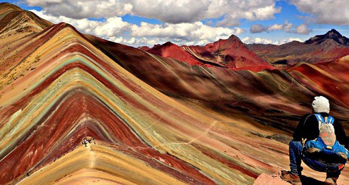 Experience the Rainbow Mountain Trek as part of your Peru Vacation