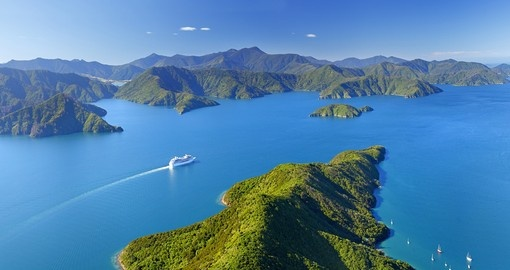 A cruise on Malborough Sound is a great inclusion for your New Zealand vacation.