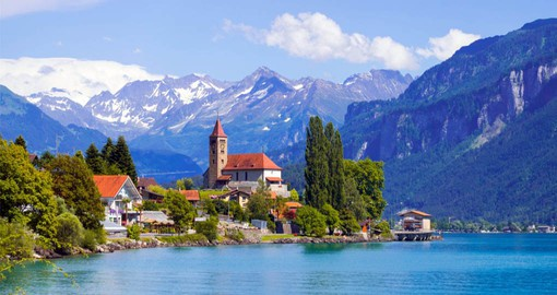 The charming alpine village of Brienz has a strong wood carving tradition